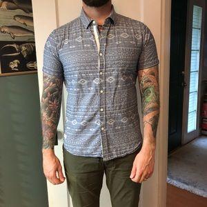 7 Diamonds Short Sleeve Button-up Shirt
